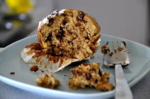 banana choc chip muffins 2