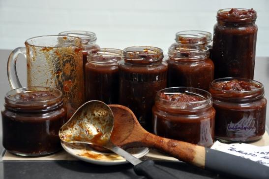 tomato relish jars