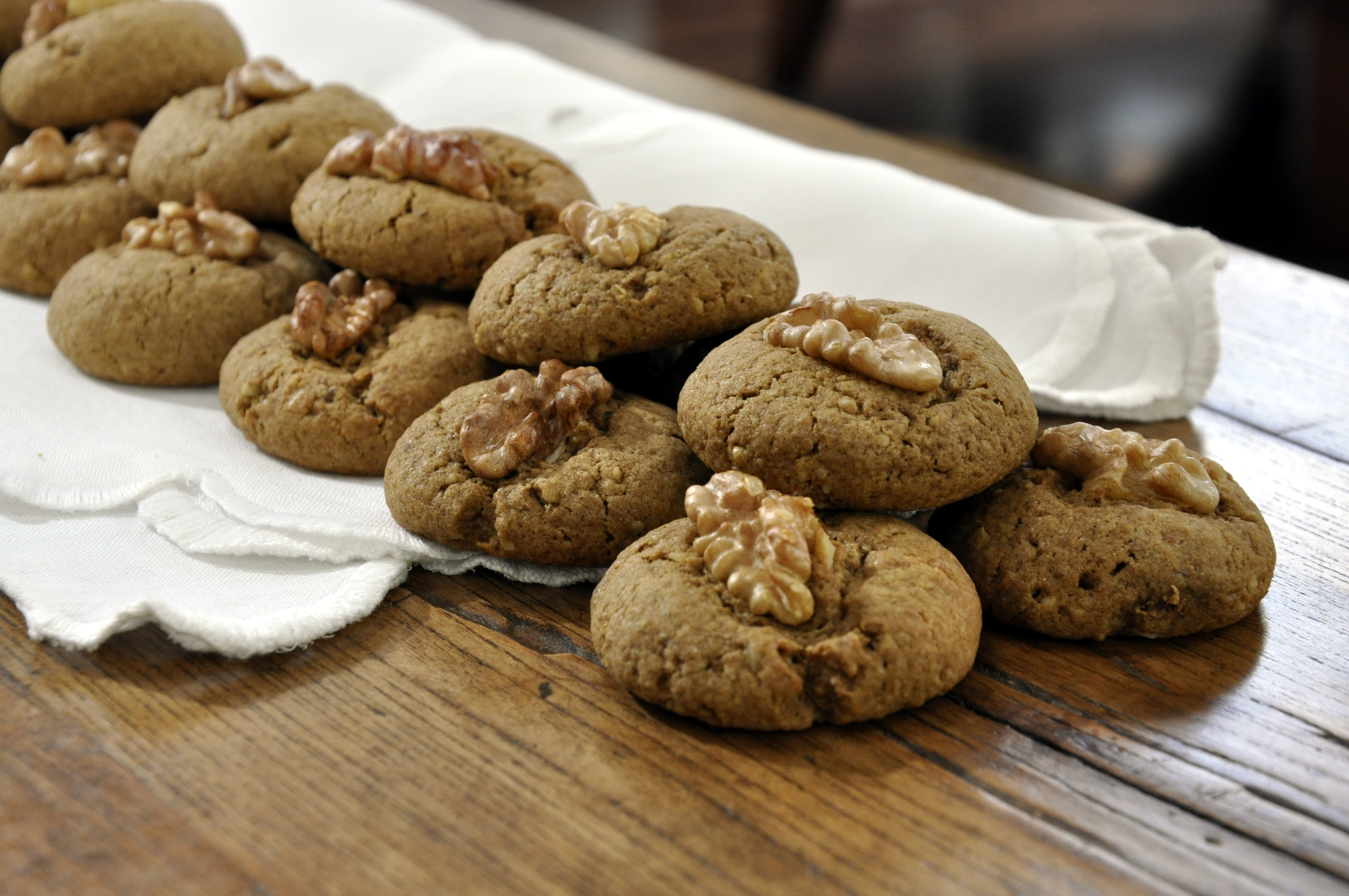 Walnut Coffee Cookies | Please Pass the Recipe