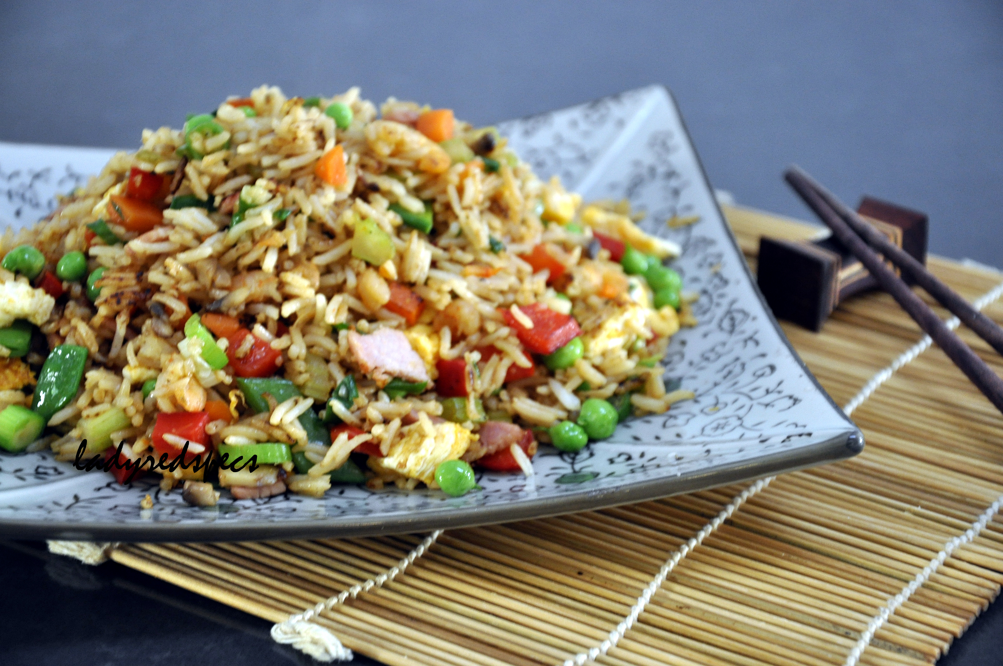 Extra special fried rice please pass the recipe fried rice served ccuart Images