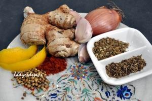 tandoori marinade ingreds