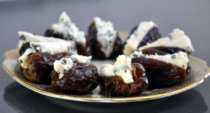 Dates blue cheese served 2