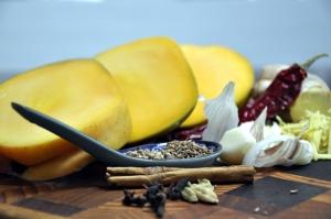 Mango chutney ingreds 2