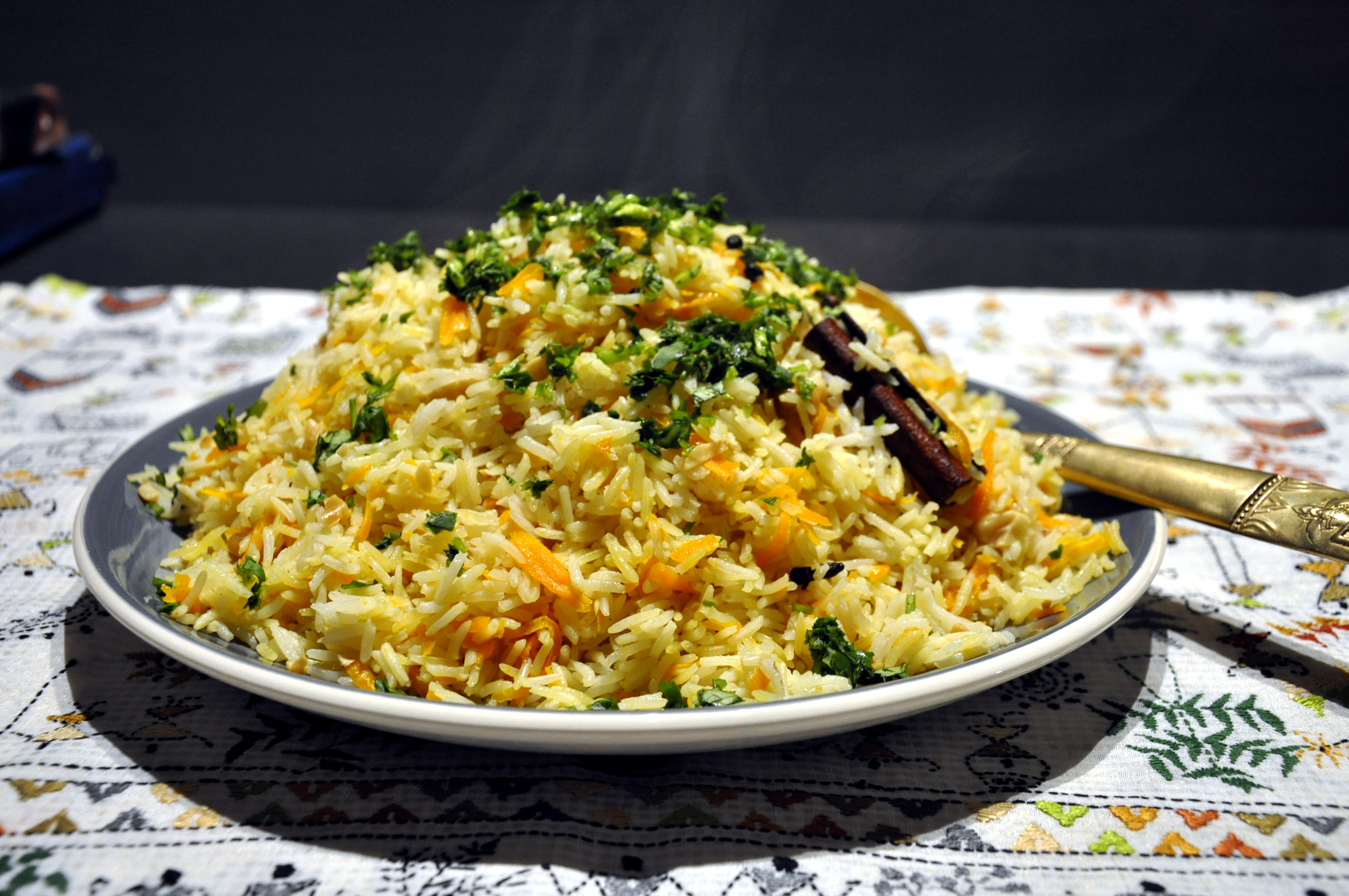 Carrot And Cashew Nut Pilau Please Pass The Recipe