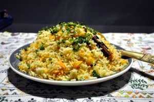 Carrot Pilau done