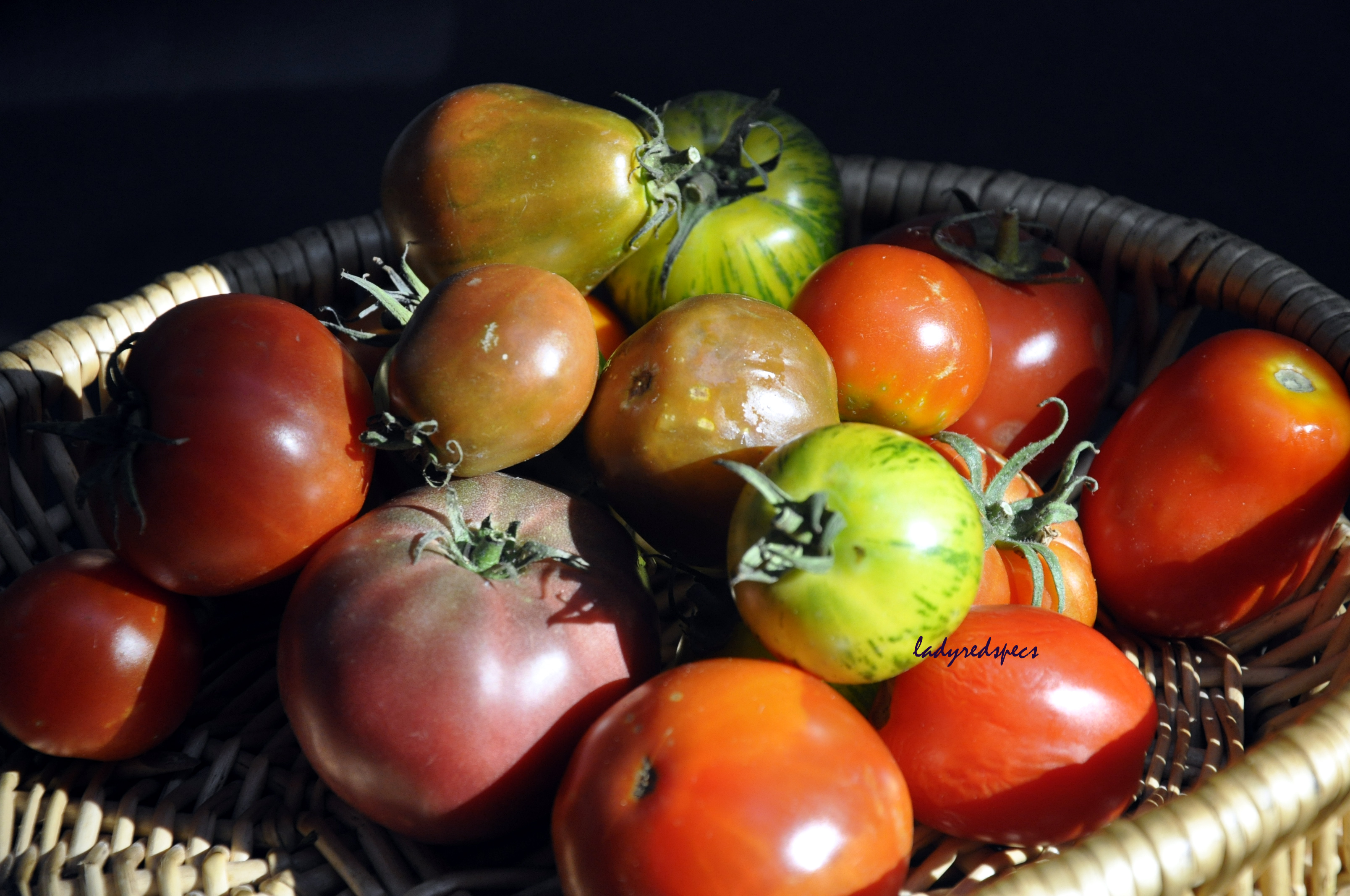 summertime heirloom tomato salad please pass the recipe