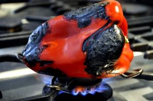 lasagne charred cap