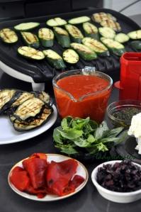 lasagne grill veg