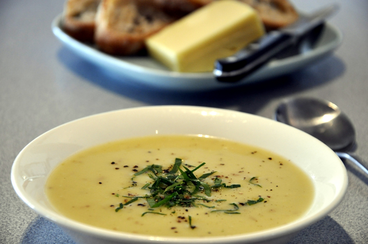 LEEK and POTATO SOUP | Please Pass the Recipe
