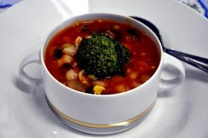 minestrone done