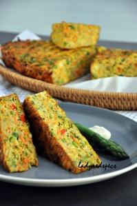 vegie slice served asp