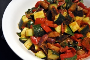 caponata done close
