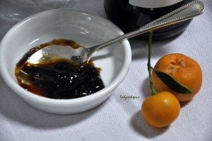 Cumquat marmalade close