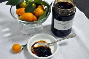 Cumquat marmalade over