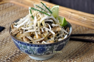 Pad Thai.served