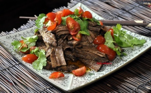 Red Braised Brisket served