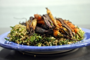 roasted heritage carrots 2