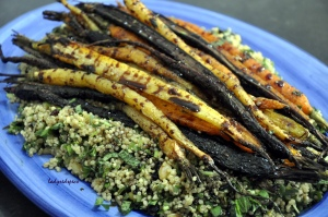 roasted heritage carrots 3