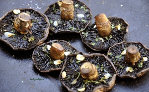 Roasted mushrooms 2