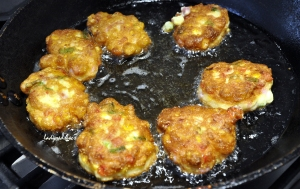 corn fritters cooking 2 copy
