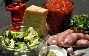 fennel saus pasta sauce ingreds