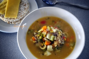 lamb shank and vegetable soup