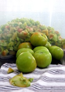 Green Tomato Pickles tomatoes