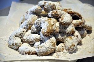 Julia's hazelnut bisc done