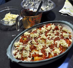 Spinach Ricotta Canneloni unbaked