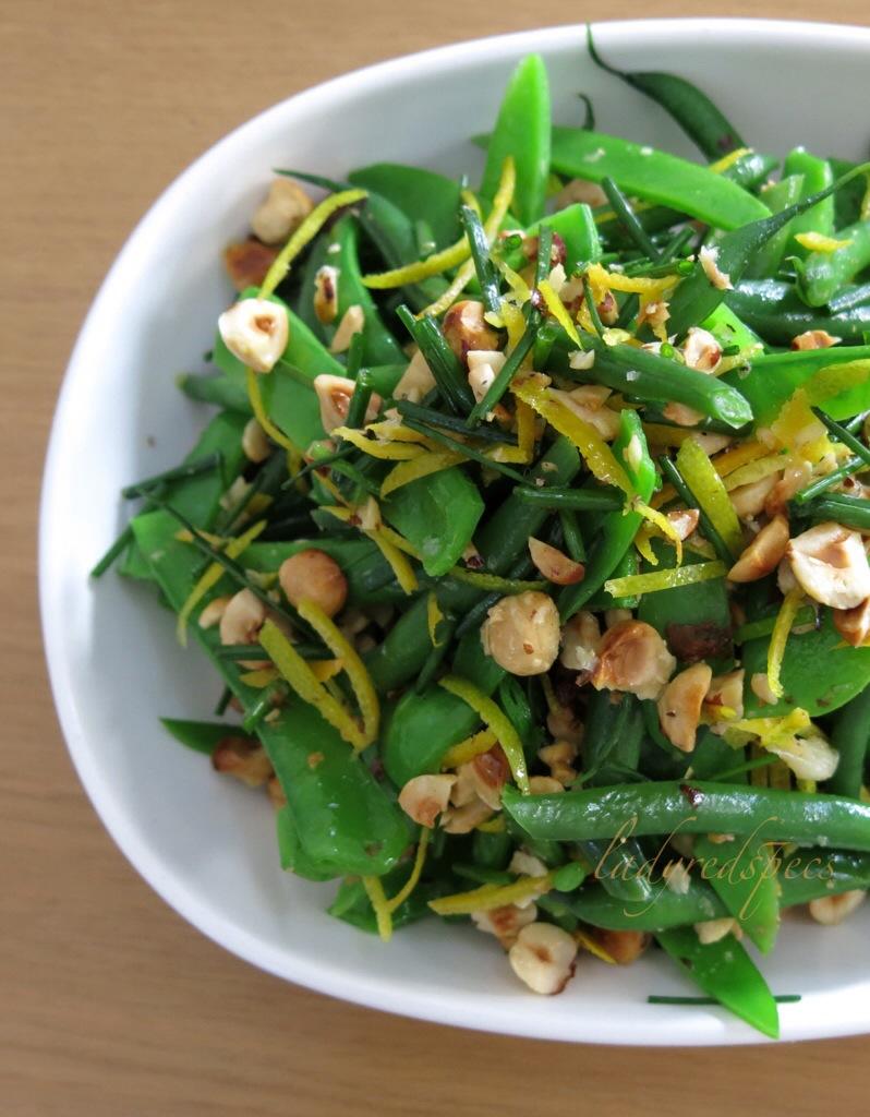 hazelnut green bean and feta salad texas peach green bean salad add ...