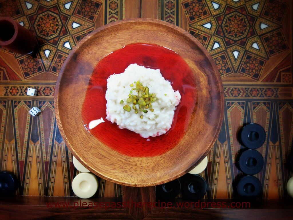 The new book of middle eastern food rose scented rice pudding the new book of middle eastern food rose scented rice pudding forumfinder Images