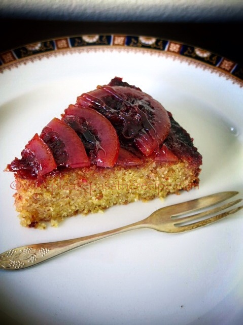 Blood Orange Polenta Cake Please Pass The Recipe