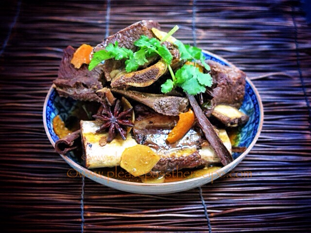 Chinese Style Braised Beef Short Ribs
