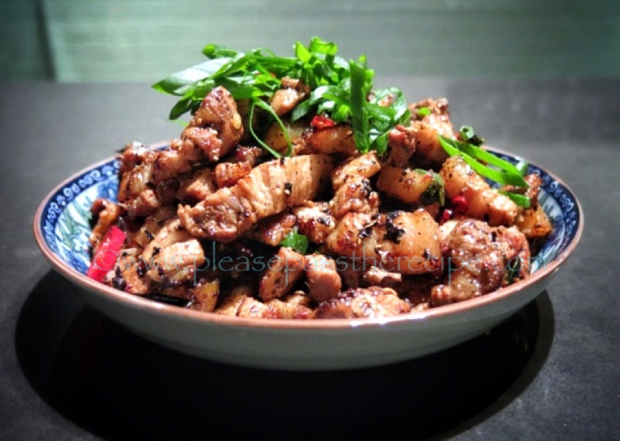 Salt and Pepper Pork Belly