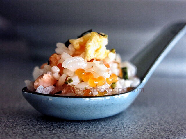 Salmon Roe Sushi | Please Pass the Recipe Product Promotion Images