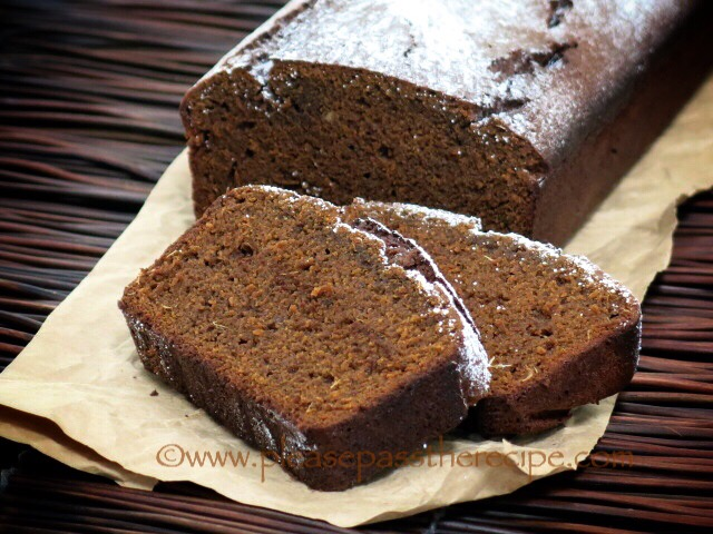 Spicy Buckwheat Gingerbread Cake | Please Pass the Recipe
