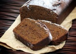 Slices of Spicy Buckwheat Gingerbread Cake