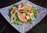 Prawn and ruby grapefruit salad