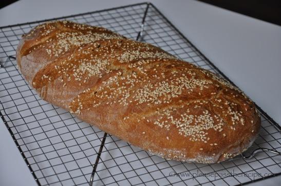 100% Spelt Sourdough Loaf