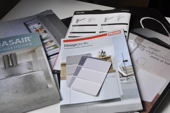 brochures for kitchen equipment