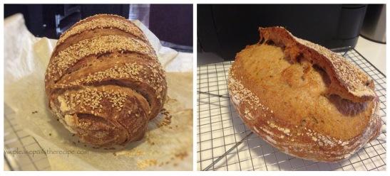 100% Spelt Sourdough Loaves