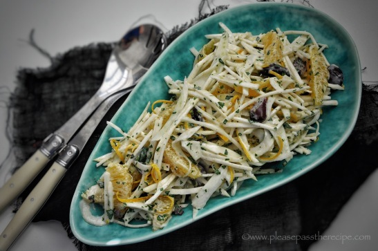 Celeriac, Fennel and Orange Salad