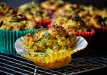 Pumpkin, Parmesan and Parsley Muffins