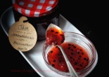 Jam-Strawberries with Passionfruit