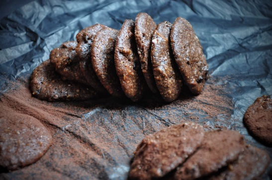 Gluten free choc chip, cherry and almond cookies
