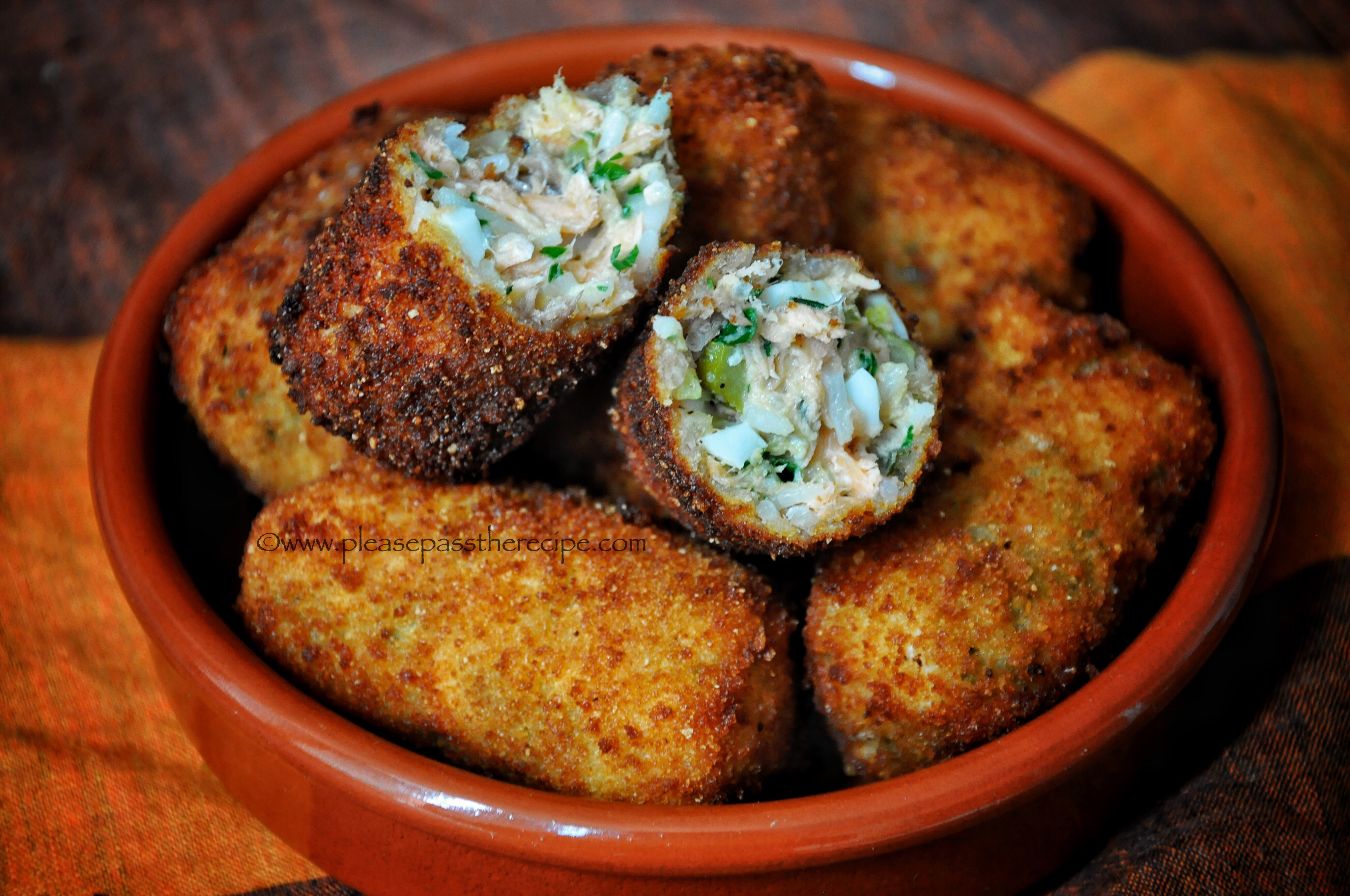 recipe: salmon croquettes made with white sauce [31]