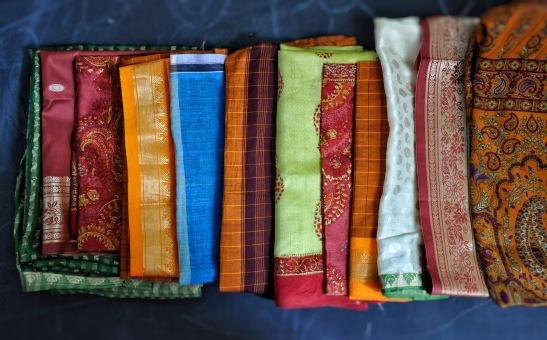 sari off-cuts