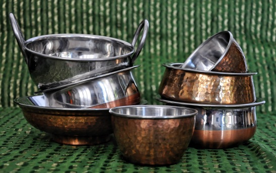 Indian serving dishes