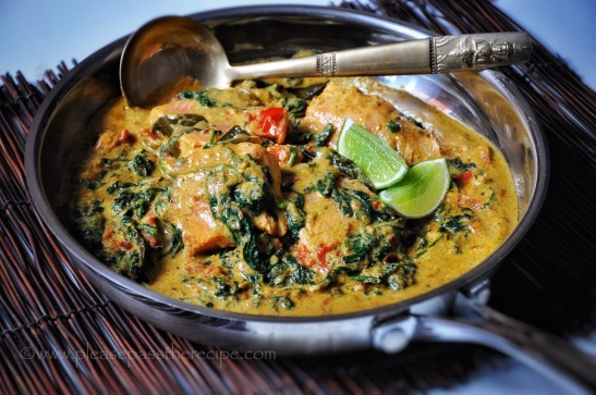 Quick Salmon Curry