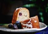 hazelnut buckwheat and blueberry cake